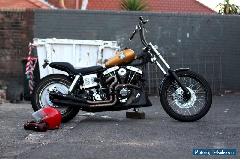 Harley Davidson Custom Frames Australia   Louisiana Bucket Brigade