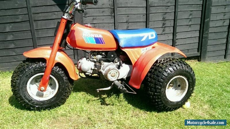 Honda Atc 70 : Honda atc for sale in united kingdom