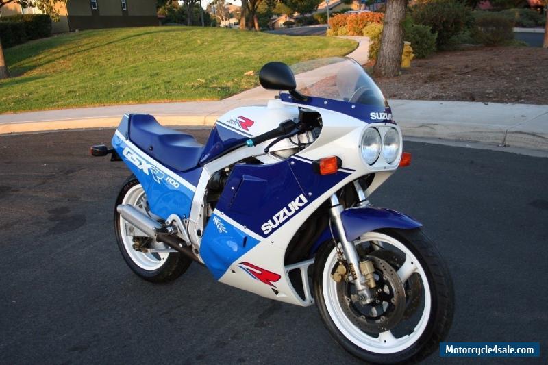 1988 Suzuki GSX-R for Sale in United States