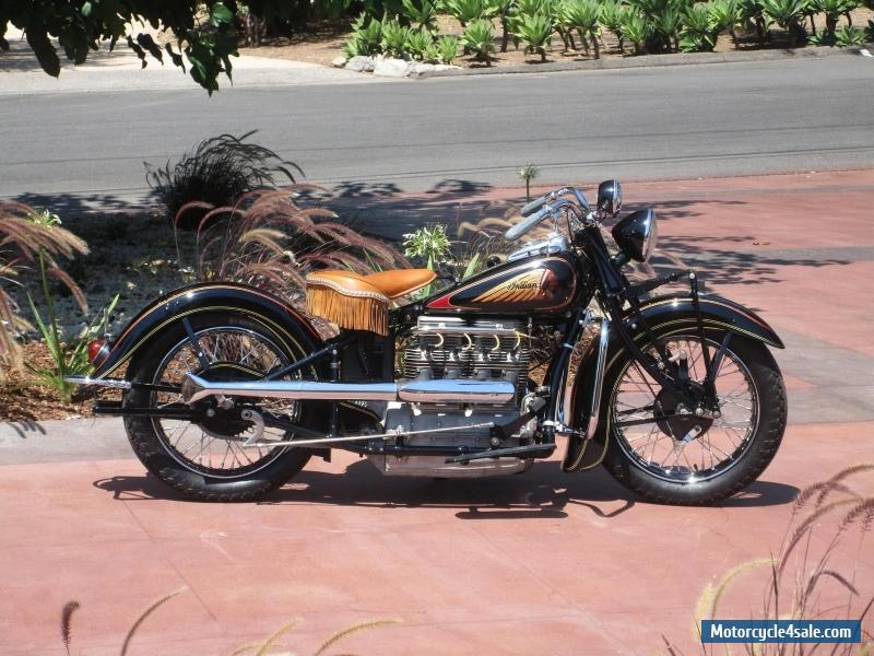 1938 Indian Indian 4 Cylinder For Sale In United States