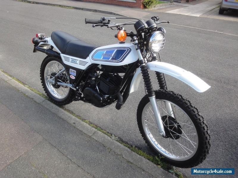 Yamaha Mx White
