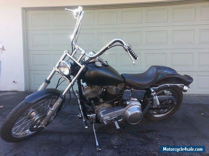 Harley Davidson Shovelhead Fxwg For Sale