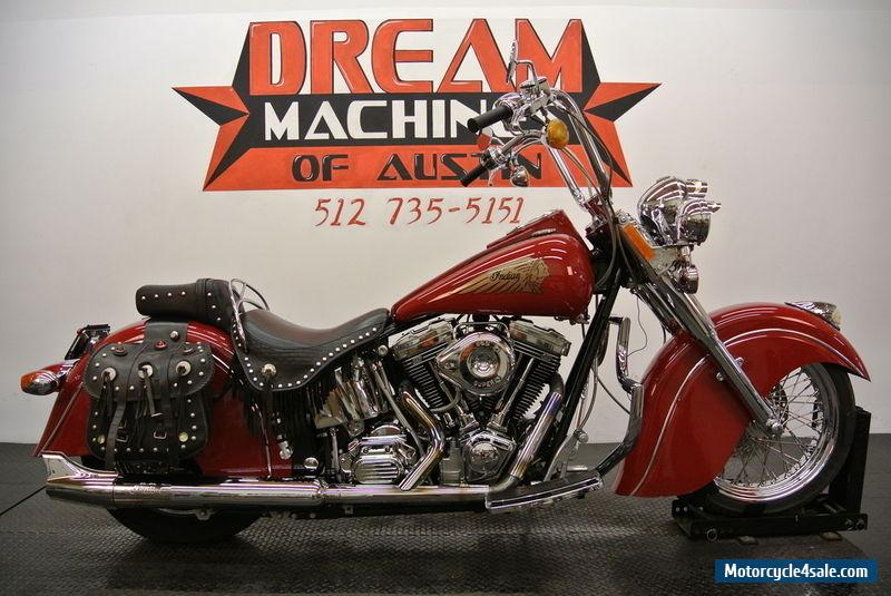 Custom Indian Motorcycle For Sale >> 2000 Indian Chief Gilroy for Sale in Canada