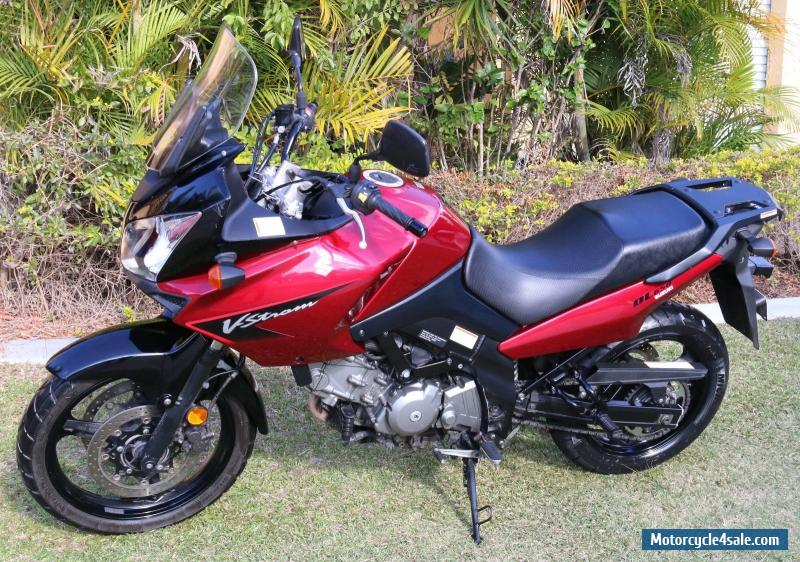 suzuki v strom dl for sale in australia. Black Bedroom Furniture Sets. Home Design Ideas