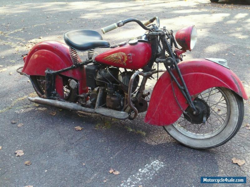 1942 indian indian sport scout for sale in canada. Black Bedroom Furniture Sets. Home Design Ideas