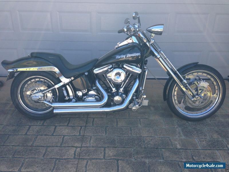 Harley Davidson Softail Custom 89 Model Black For Sale