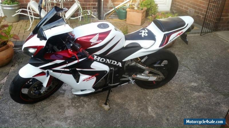 2005 honda 600 cbr rr for sale