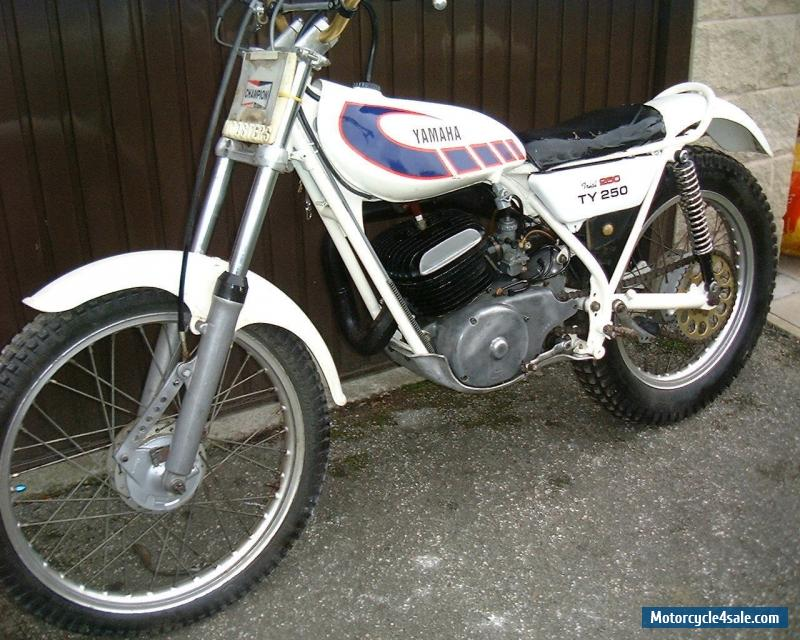 1975 yamaha ty250 for sale in united kingdom for Yamaha 250 scrambler for sale