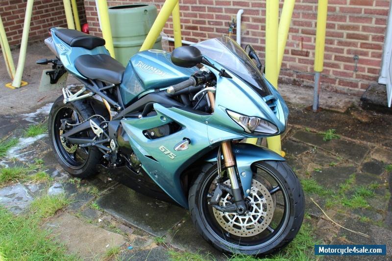 2009 Triumph Daytona For Sale In United Kingdom