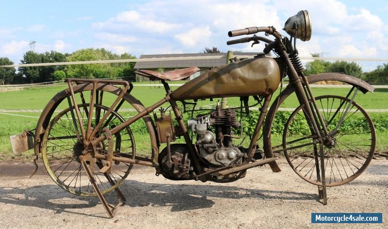 First Harley Davidson: 1929 Harley Davidson B 350cc For Sale In United Kingdom
