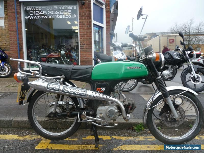 Honda Ss50 Five Speed 1976 Green For Sale In United Kingdom