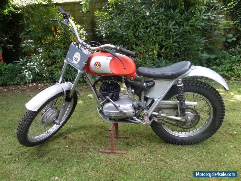 1964-67 250 Radial Head Bultaco Sherpa Trials Bike Very Rare
