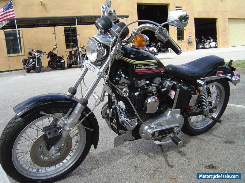 1974 Harley Davidson Sportster Sale United States Pictures