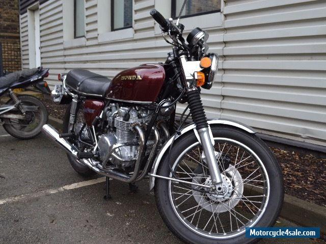 1976 honda cb550f for sale in united kingdom. Black Bedroom Furniture Sets. Home Design Ideas
