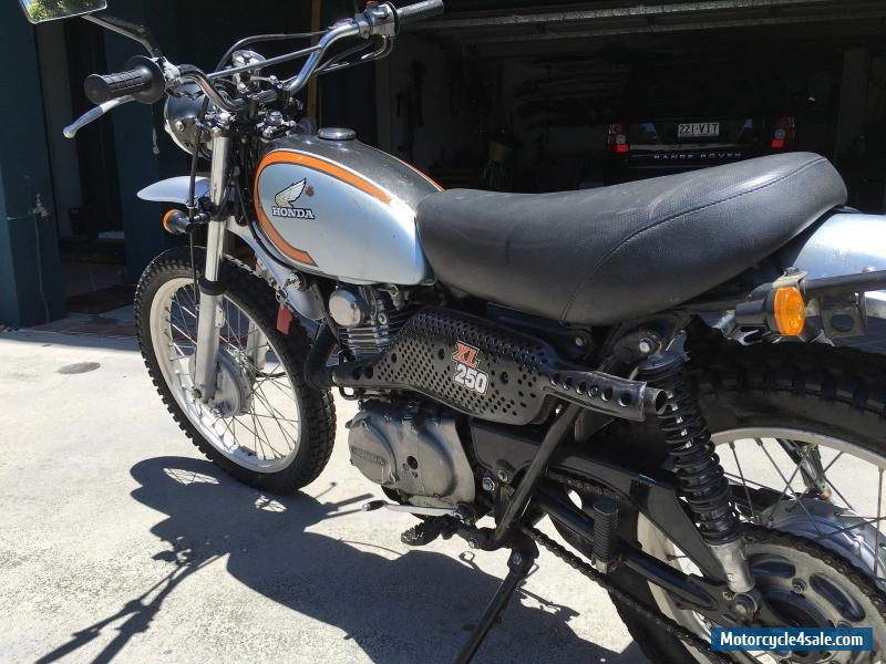 honda xl 250 for sale in australia