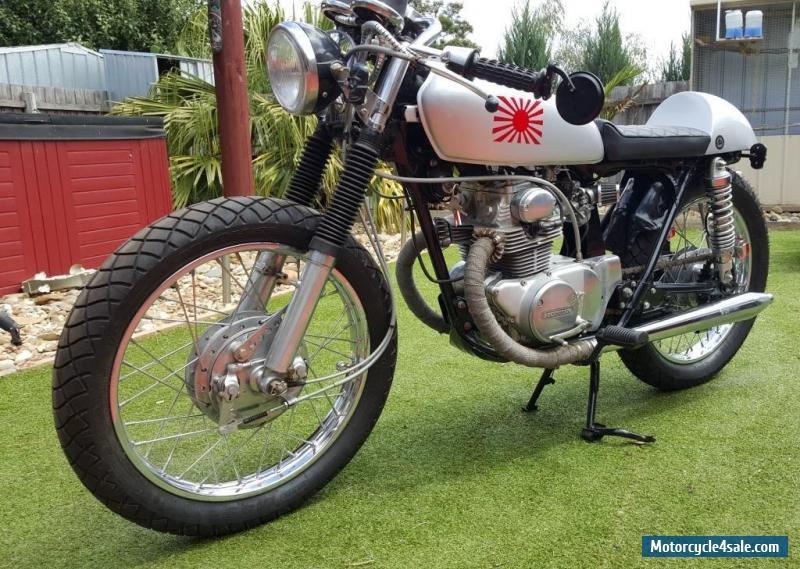 Honda CB175 Cafe Racer For Sale