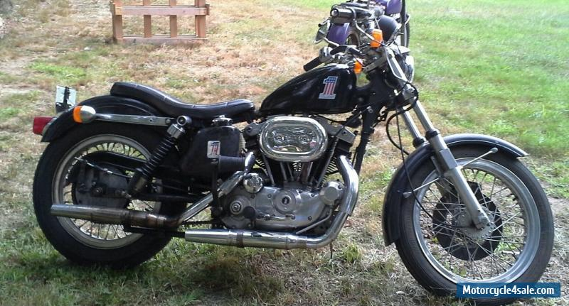1977 Harley Davidson Sportster Sale United States Pictures