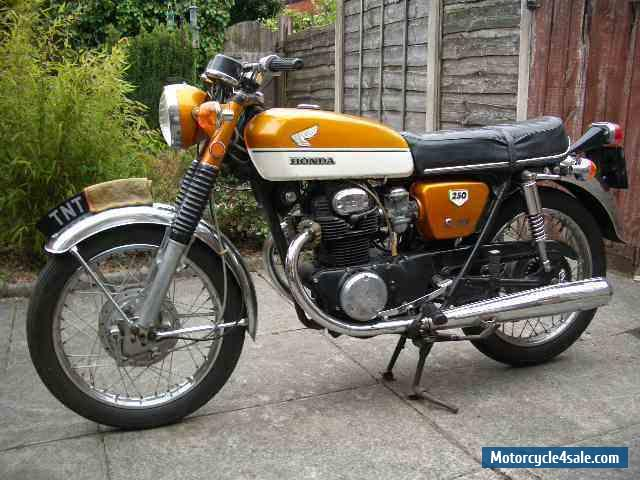 1970 honda cb250 k2 for sale in united kingdom. Black Bedroom Furniture Sets. Home Design Ideas