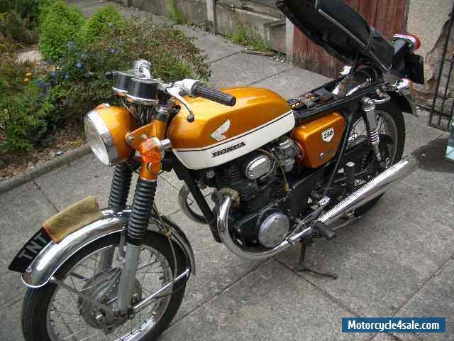 1970 honda cb250 k2 for sale in united kingdom for Hondas for sale