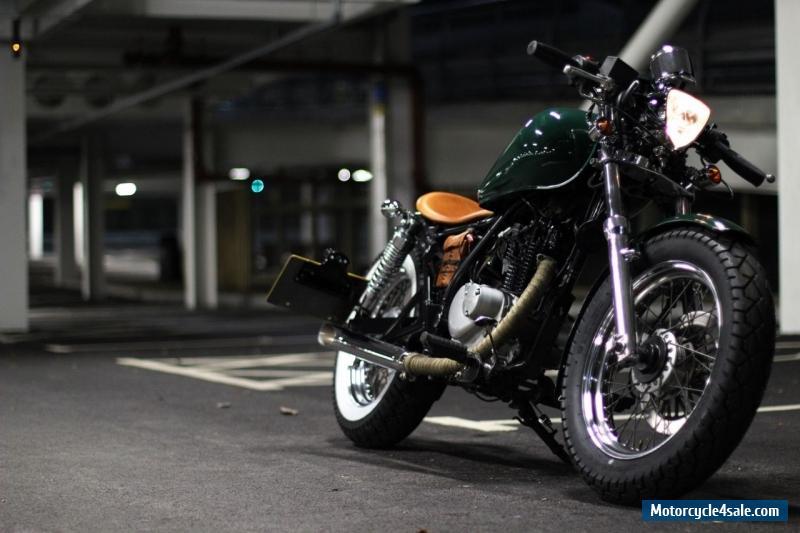 Suzuki Gz  Cafe Racer