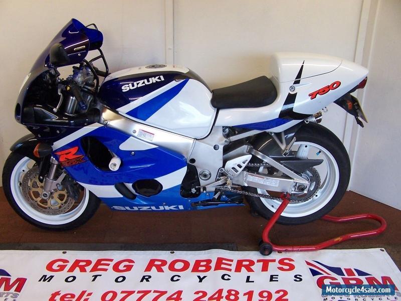 1999 SUZUKI GSXR 750X SRAD WHITE BLUE For Sale