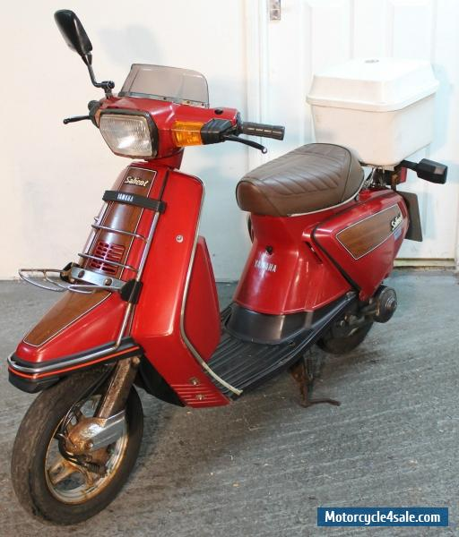1986 Yamaha CA50 Salient for Sale in United Kingdom