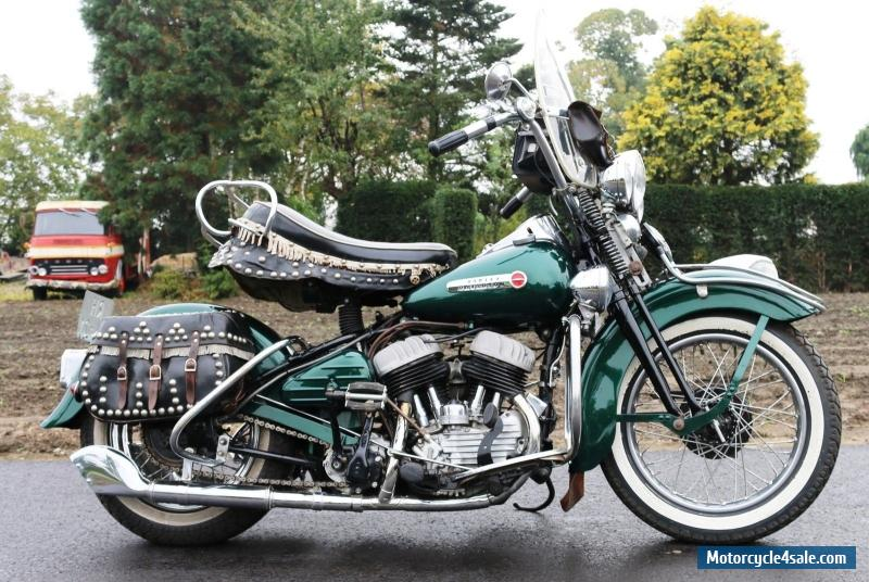 Harley Davidson Wl750 From 1948 In Full Dresser Style Oh What A Beauty For