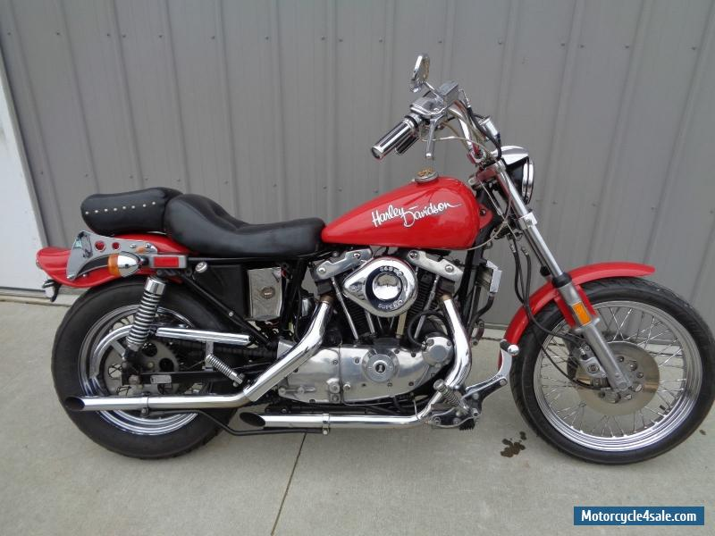 1981 harley davidson sportster for sale in canada. Black Bedroom Furniture Sets. Home Design Ideas