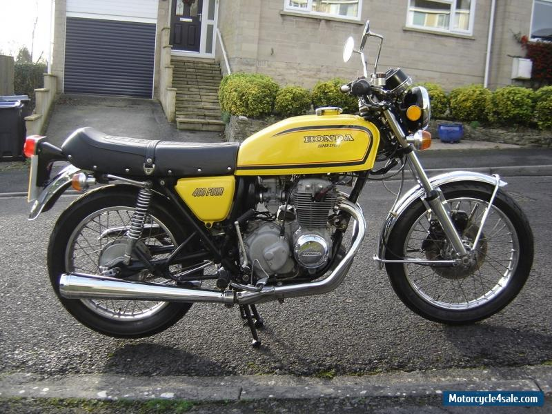 1979 honda cb 400 four f2 for sale in united kingdom. Black Bedroom Furniture Sets. Home Design Ideas