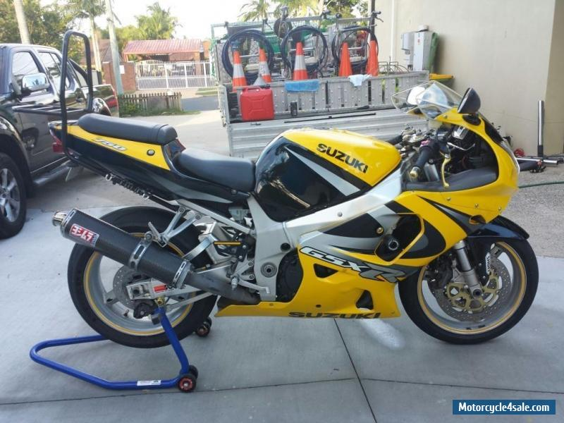 2000 suzuki gsxr r 750 motorbike for sale in australia. Black Bedroom Furniture Sets. Home Design Ideas
