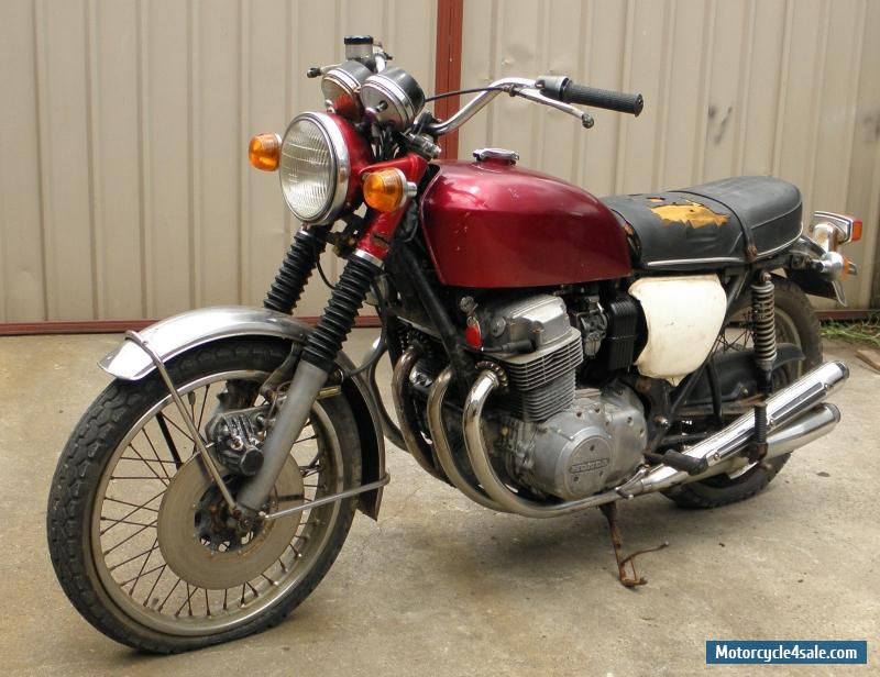 Honda Cb K Restoration Project Good Running Bike Done Klms