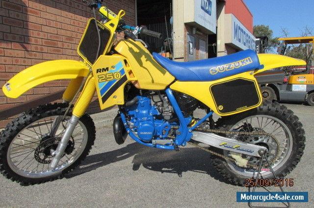 Suzuki RM250 for Sale in Australia