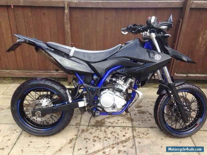 2014 yamaha wr 125 x for sale in united kingdom. Black Bedroom Furniture Sets. Home Design Ideas