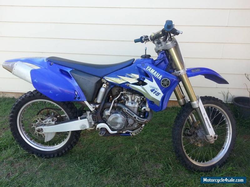 Yamaha Yz450f For Sale In Australia