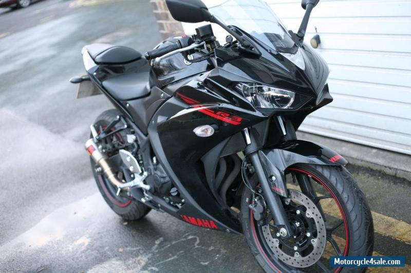 2015 yamaha yzf r3 abs for sale in united kingdom for Yamaha r3 mpg