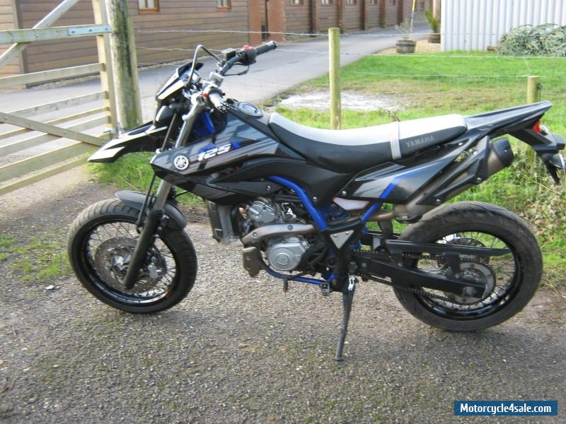 2012 yamaha wr 125 x for sale in united kingdom. Black Bedroom Furniture Sets. Home Design Ideas