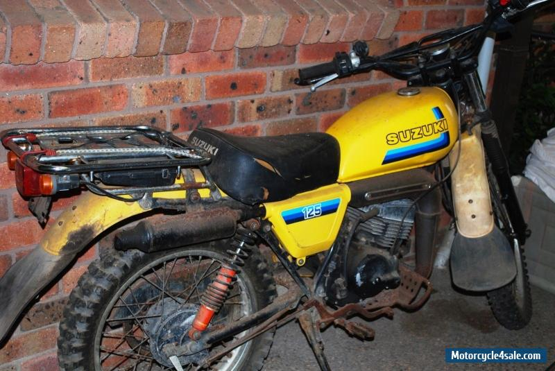 suzuki tf125 for sale in australia suzuki ts 125 repair manual suzuki tf 125 manual