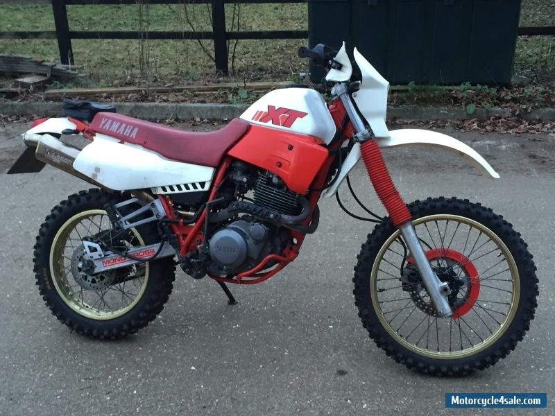 1987 yamaha xt600 for sale in united kingdom