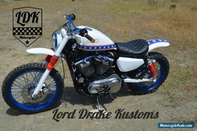 harley davidson sportster scrambler  quot daredevil quot  by lord drake kustoms for sale in united kingdom harley davidson job time code manual 2016 Harley-Davidson Torque Spec Sheet