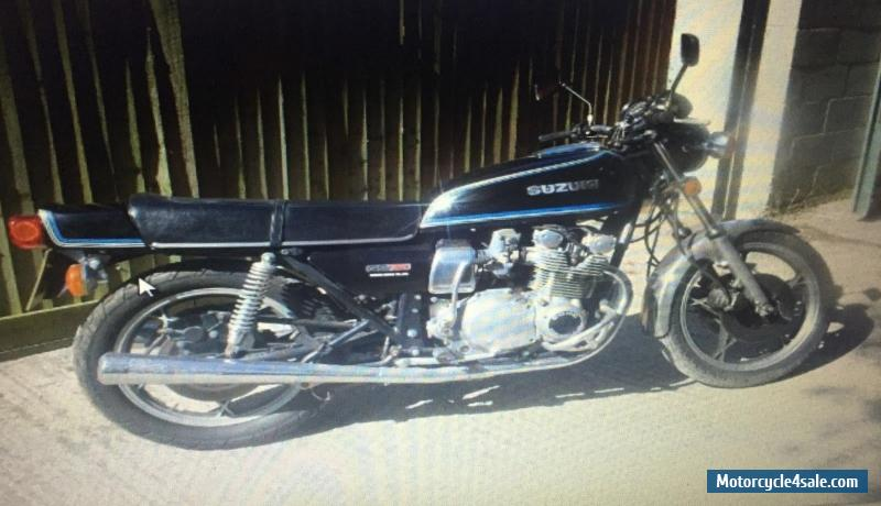 1978 Suzuki 2 WHEEL MOTORCYCLE SUZUKI for Sale in United Kingdom