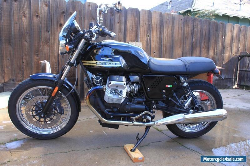 2010 moto guzzi v7 classic for sale in canada. Black Bedroom Furniture Sets. Home Design Ideas