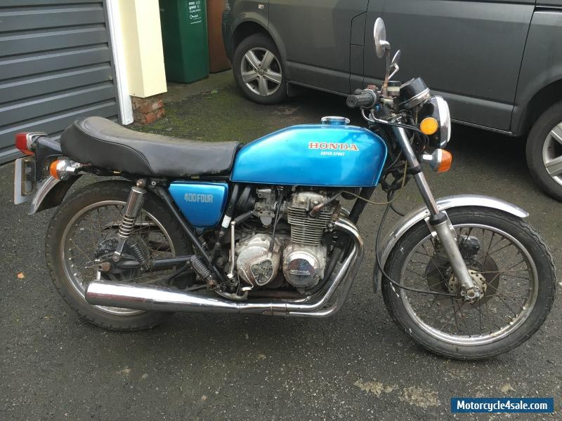 1976 honda cb400 four for sale in united kingdom for Honda cb400 for sale