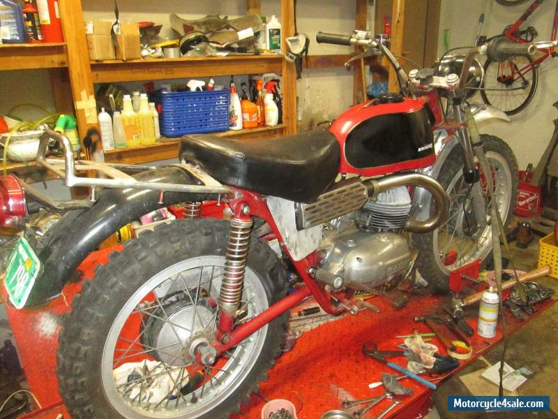 1967 Bultaco Matador For Sale
