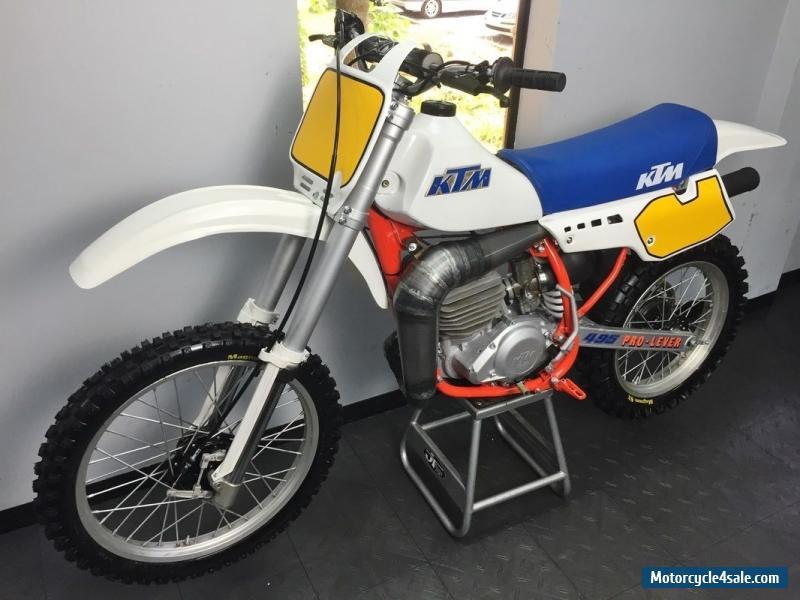 1984 ktm 495 Jahrgang Motocrosser