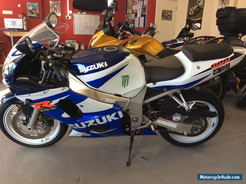 2002 suzuki gsxr 600 k1 for sale in united kingdom. Black Bedroom Furniture Sets. Home Design Ideas