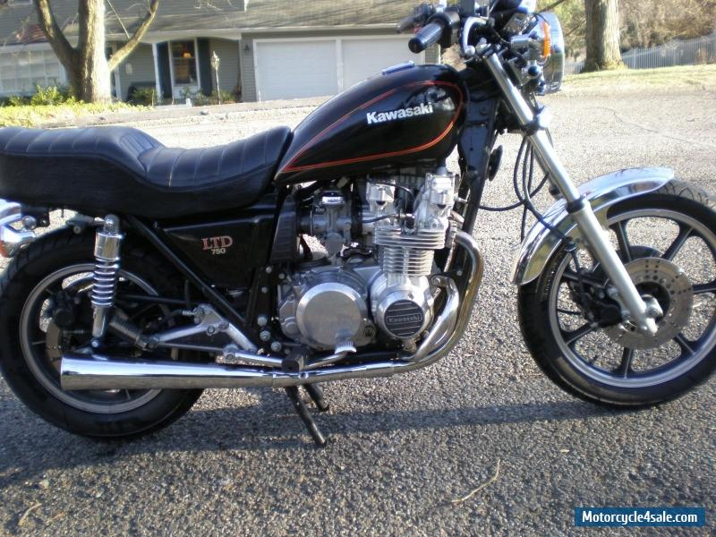 1981 Kawasaki 750 Ltd Parts