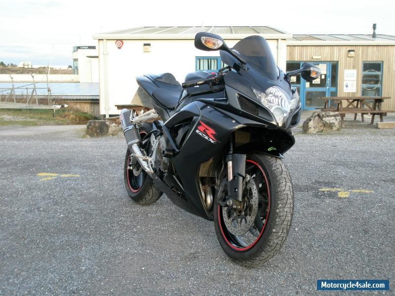 2006 suzuki gsxr 750 k7 for sale in united kingdom. Black Bedroom Furniture Sets. Home Design Ideas
