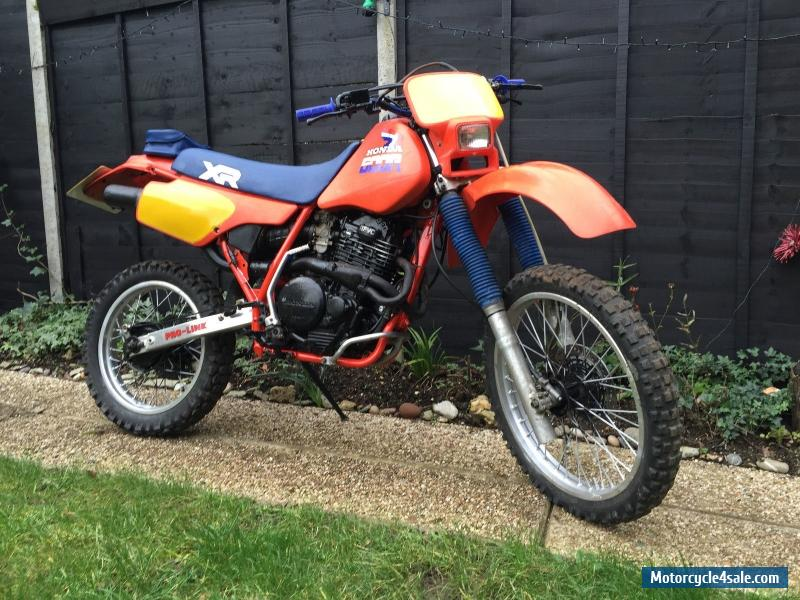 HONDA XR 600R for Sale in United Kingdom