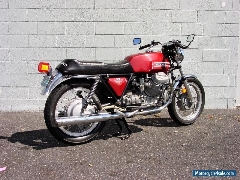 1973 moto guzzi v7 sport for sale in canada. Black Bedroom Furniture Sets. Home Design Ideas