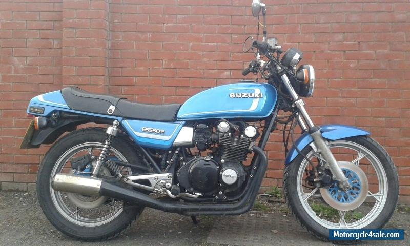 1983 suzuki gs550e for sale in united kingdom for Classic motors for sale